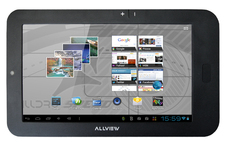 Tableta Allview AllDro Speed Eco Plus : 7 inch, 512MB DDR3, 4GB, WiFi, Android 4.0
