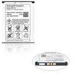 Acumulator Sony Ericsson BST-33 Li-Polimer 950mA, bulk