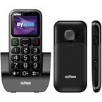 Telefon Mobil myPhone 1045 Simply+, pentru seniori - Black