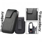Toc piele Blackberry Leather Holster for pentru 9790, ACC-41815-201 - Black
