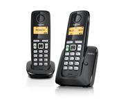 Telefon analogic Gigaset A220A DUO   - negru