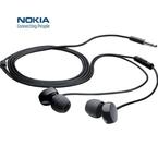 Casca cu fir Nokia Stereo Headset WH-208, 3.5 mm, bulk - Negru