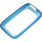 Bumper plastic moale Nokia Lumia 610, CC-1039 CYAN - Cyan