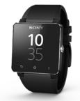 Ceas inteligent Sony SmartWatch 2 SW2, bratara de silicon - Black