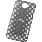 Husa plastic HTC HC C704 Hard Shell Hole pentru One X - Gri