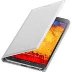 Husa Piele Samsung Flip Wallet White pentru Galaxy Note 3 N9005 / N9000, EF-WN900BWEGWW - White