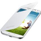 Husa tip S-View Samsung pentru Galaxy S4 i9500, i9505, EF-CI950BWEGWW - White