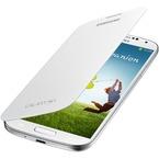 Husa Samsung Flip Cover pentru Samsung Galaxy S4 i9500, i9505, i9506, i9515, EF-FI950BWEGWW - White