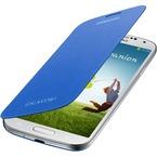 Husa Samsung Flip Cover pentru Samsung Galaxy S4 i9500, i9505, i9506, i9515, EF-FI950BCEGWW - Light Blue