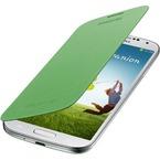 Husa Samsung Flip Cover pentru Samsung Galaxy S4 i9500, i9505, i9506, i9515, EF-FI950BGEGWW - Green