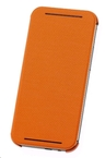 Husa Flip HTC Double Dip Flip Case HC V941 pt HTC One M8 - Orange