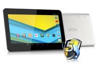 Tableta Utok 1000 Q Lite : 10.1 inch, 8GB, Android 4.2, Wi-Fi - Black/Silver