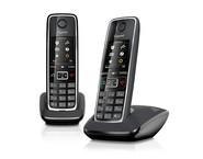 Telefon analogic Gigaset C530 Duo - Negru
