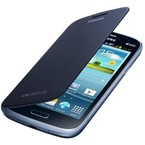 Husa Samsung Flip Cover pentru Galaxy Grand Core i8260 / i8262, EF-FI826BLEGWW - Blue