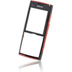 Carcasa fata Nokia X2 - Neagru Rosu