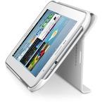 Husa Samsung tip Book pentru tableta Galaxy TAB 2 7, P3100 / P5100 / P3110 / P5110 / I705, EFC-1G5SWECSTD - White