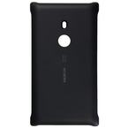 Capac protectie spate Nokia Wireless Charging Shell CC-3065 for Lumia 925, CC-3065 - Negru