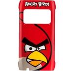 Capac protectie spate, Nokia X7, CC-5004 RED, Angry Birds - Rosu