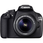 Aparat foto digital Canon EOS 1200D kit EF-S 18-55 IS : 18 MPx, LCD 3, 3 fps, Full HD