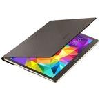 Husa Samsung tip Book Simple Cover pentru Galaxy Tab S 10.5 T800, EF-DT800BSEGWW - Bronze Titanium
