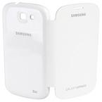 Husa Samsung Flip Cover for Galaxy Express i8730, EF-FI873BWEGWW - White