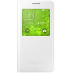 Husa Flip Samsung S-View Cover pentru Galaxy Alpha G850, EF-CG850BWEGWW - White