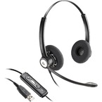 Casti cu microfon Plantronics Over-Head Blackwire Stereo C620-M - Black