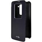 Husa LG Flip Case with Window CCF-240 for LG G2 D802, bulk - Black
