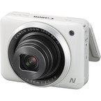 Aparat foto digital Canon PowerShot N2 : 16.1 MPx, 8x Zoom, LCD tactil 2.8, Full HD - White