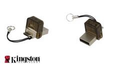 Memory Stick USB Kingston DataTraveler microDUO 16GB (Smartphone / Tablet / PC / Laptop)