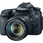 Aparat foto digital Canon EOS 70D + EF-S 18-135mm IS STM Lens : 20.2MP, LCD 3, Full HD, 7 fps, Wi-Fi