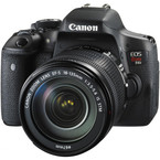 Aparat foto digital Canon EOS 750D + EF-S 18-135mm IS STM Lens: 24.2 MPx, LCD 3, 5 fps, Wi-Fi, Full HD