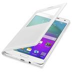 Husa tip Book S-View Samsung Flip Case EF-CA700BFEGWW pentru Galaxy A7 SM-A700 - White