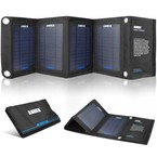 Incarcator solar pliabil Anker 14W PowerIQ - Black
