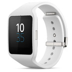 Ceas inteligent Sony Smartwatch 3 SWR50 (compatibil Android) - White