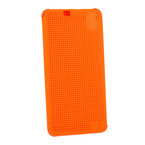 Husa tip Book HTC Case Dot View Flip HC M170 pentru HTC Desire 826 - Orange