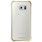 Husa protectie spate Samsung, Clear Cover EF-QG920BF pentru Galaxy S6, SM-G920F - Gold