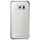 Husa protectie spate Samsung, Clear Cover EF-QG920BBEGWW pentru Galaxy S6, SM-G920F - Dark Blue