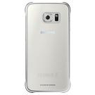 Husa protectie spate Samsung, Clear Cover EF-QG920BSEGWW pentru Galaxy S6, SM-G920F - Silver