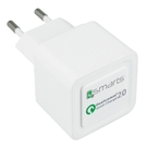 Incarcator Retea Universal 4smarts Quick Charger - White