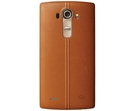 Capac Protectie Spate LG / Stylish Genuine Leather Back Cover CPR-110 pentru LG G4, H815 - Brown