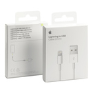 Cablu de date original Apple Lightning - USB, 0.5 m, ME291ZM/A, Blister - White