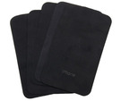 Set 5 servetele Apple pentru curatat ecran telefon / tableta, cleaning cloth, bulk - Black