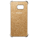 Husa protectie spate Samsung Glitter Cover EF-XG928CFEGWW pentru Samsung Galaxy S6 Edge Plus SM-G928 - Gold