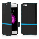 Husa Vetter Flip Book Series pentru iPhone 6 Plus - Blue