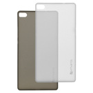 Set huse protectie spate 4smarts BELLEVUE ultra-thin Clip pentru Huawei P8 (2 buc.) - Black White