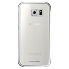 Husa protectie spate Samsung Clear Cover EF-QG925BSEGWW pentru Galaxy S6 Edge SM-G925 - Silver