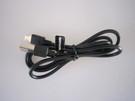 Cablu de date original Tecmobile SBS microUSB pentru Titan 150, Titan 550, Titan 600 - Black