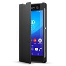 Husa tip Book Sony Flip Case Style Cover Window SCR48 pentru Sony Xperia M5 - Black