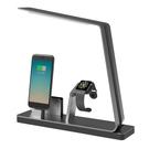 Incarcator stand MiTagg NuDock Power Lamp Station pentru iPhone 6 / 6S / 6 Plus / 6S Plus si Apple Watch - Space Grey